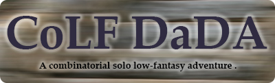 CoLF DaDA - A solo low-fantasy adventure game.
