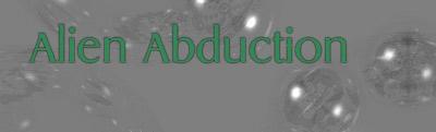 Alien Abduction banner