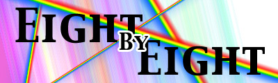 Eight by Eight banner.